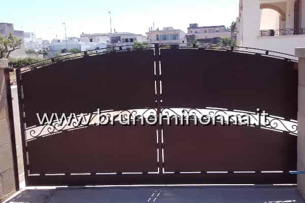 Cancello carrabile, cancello pedonale